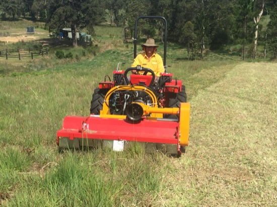 flail mowing contractors sunshine coast