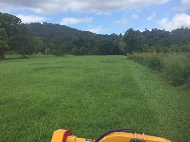 Our tractor can absolutely smash out paddock mowing when the area is flat and well maintained.