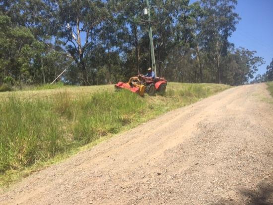 Steep mowing services Sunshine Coast