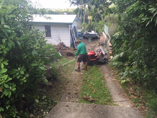 garden clean up Sunny Coast